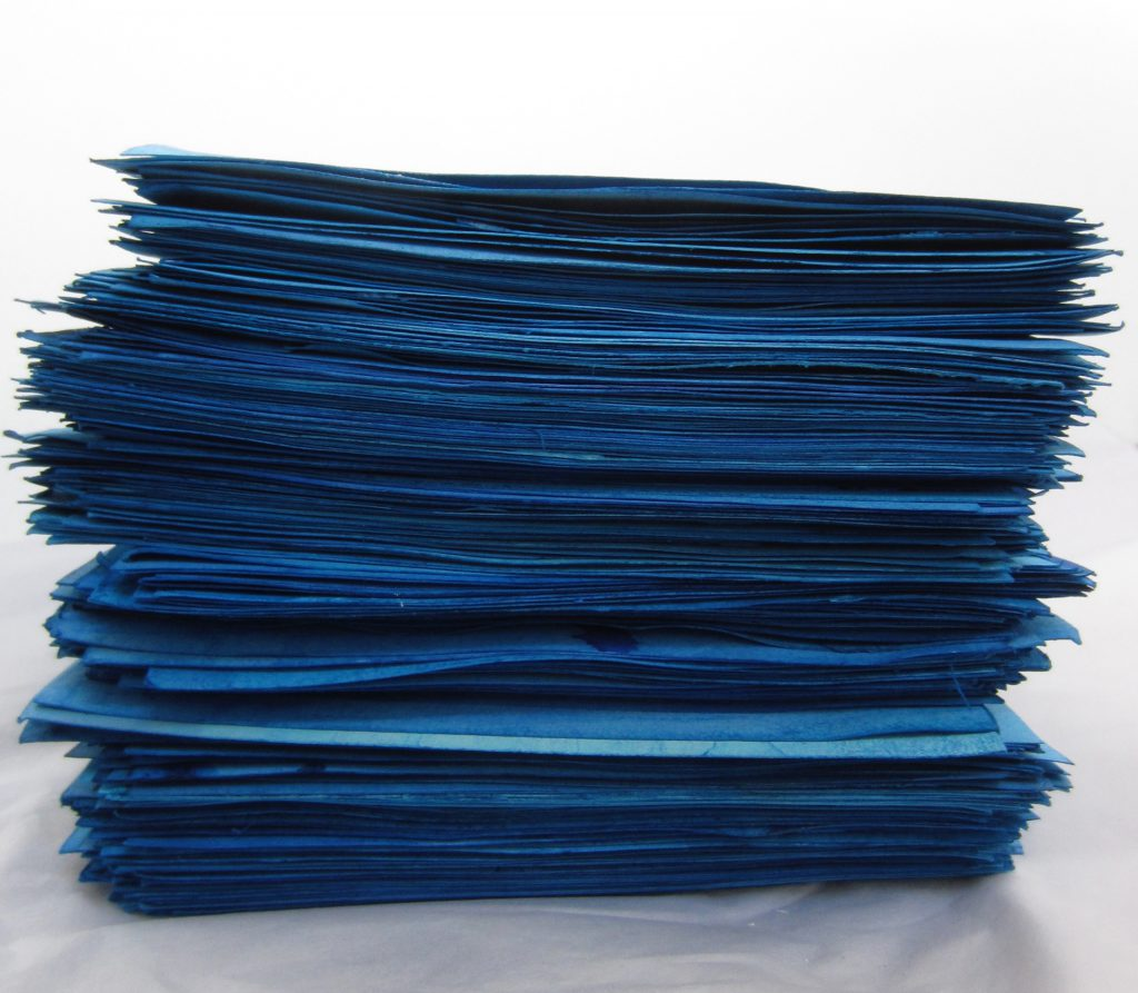 Blue Stack, FAB at Officers Club. Logged (292 w/colours), 20 x 14.5 x 12.5 cm