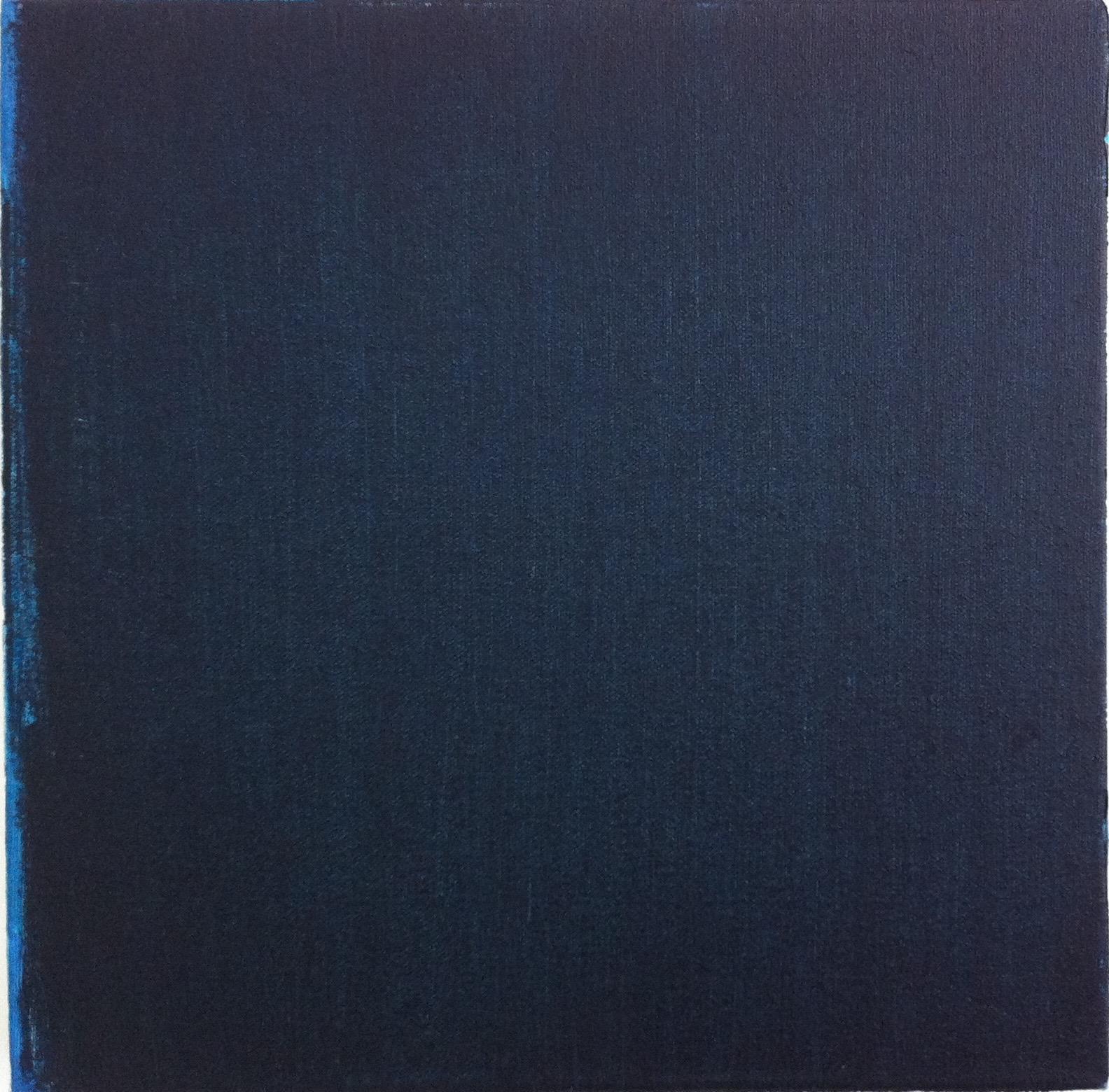 Mood Indigo, oil on canvas